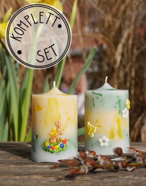 Komplettset: Candle Crunch Frühling