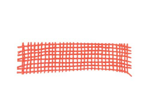 Wachsnetz grob Farbe rot