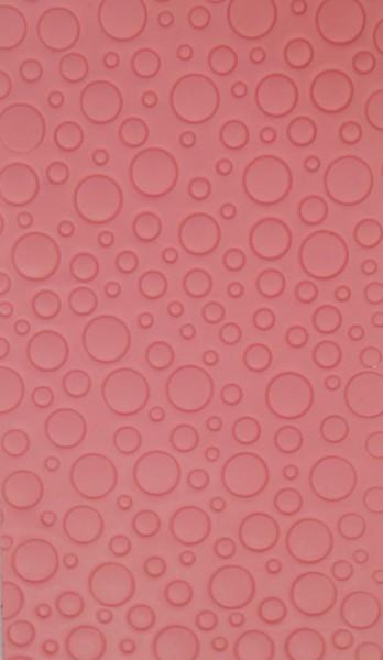 Wachsverzierfolien Bubble
