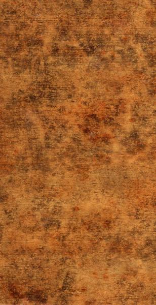 Wachsverzierfolien Kupfer gemustert