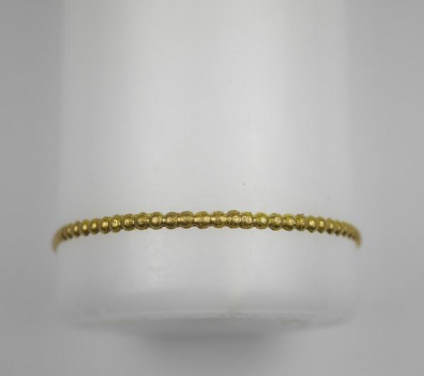 Wachsborte in gold, 2 Reihen, 20 cm