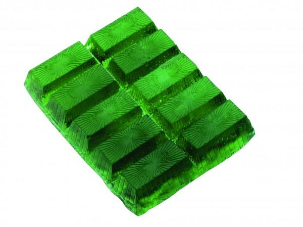 Seifenriegel 250 g, grün, Apfelduft