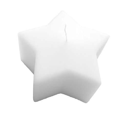 Sternkerzen weiß