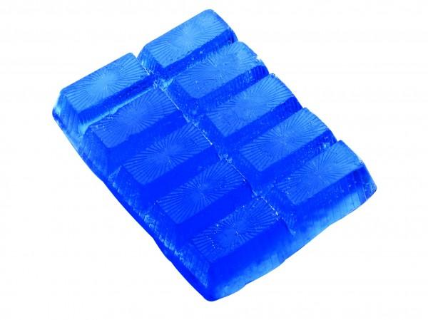 Seifenriegel 250 g, blau, Lavendelduft