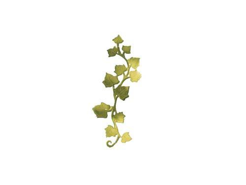Wachsverzierung Efeuranke 12,5 cm x 3,5 cm