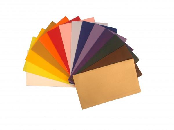 Wachsplatten Set im Farbenmix 14fach