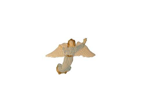 Schutzengel aus Wachs 8 cm in hellblau