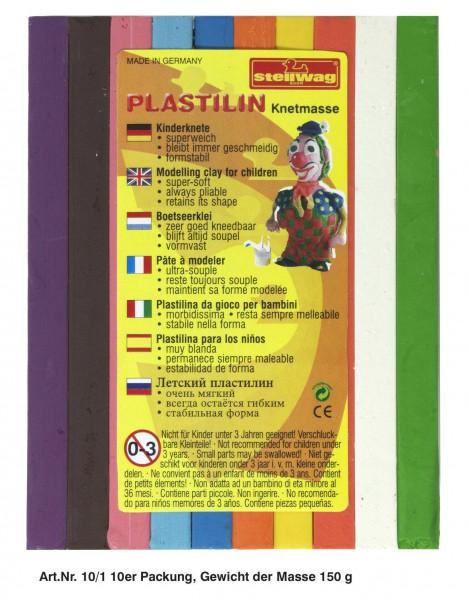 Plastilin 10 Stangen 150 g