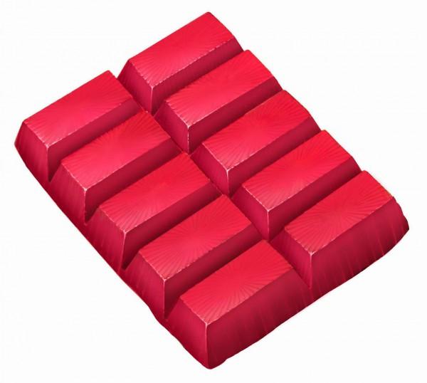 Farbe für weisse Seife rot