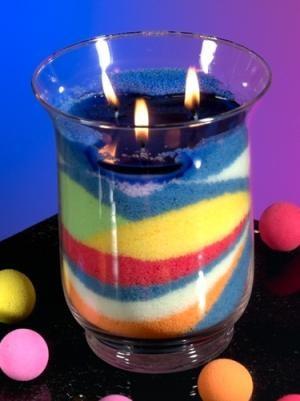 Kerzensand 175 g in verschiedenen Farben